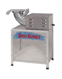 sno cone machine parts